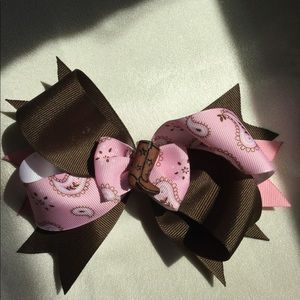 Other - Homemade hair bows. Western style.